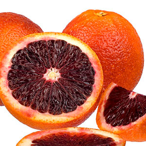 Blood Orange 'Moro' (Citrus sinensis)