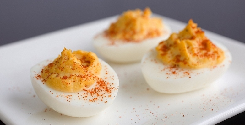 Spiced-up Deviled Eggs