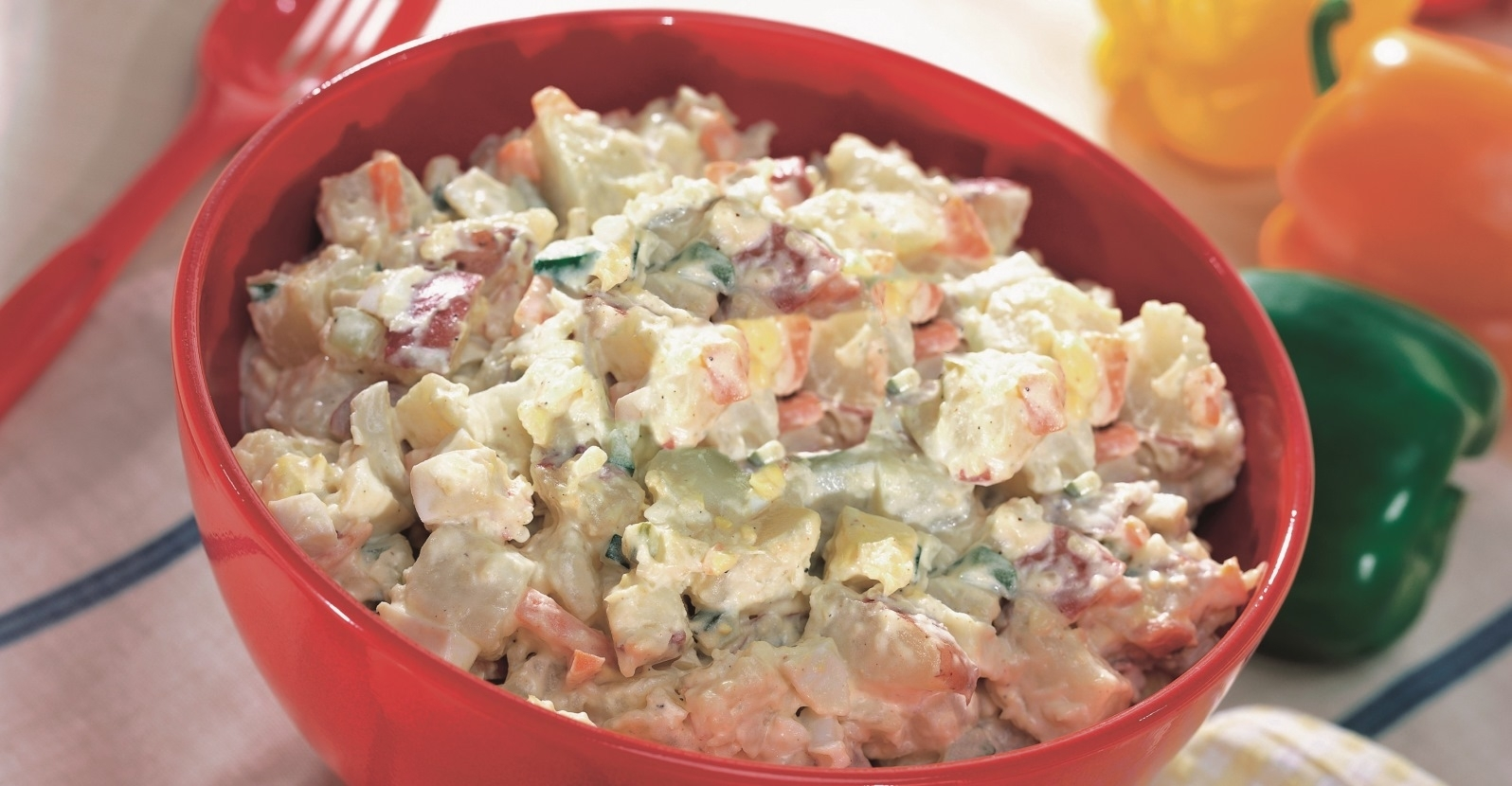 Light and Creamy Potato Salad