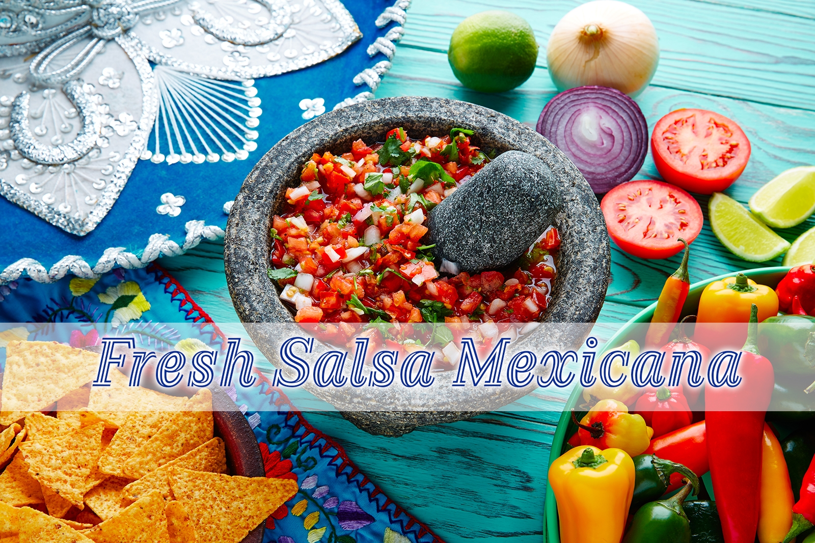 Fresh Salsa Mexicana (Pico de Gallo)