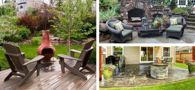 Fireplace, Fire Pit and Chimenea in Outdoor Rooms