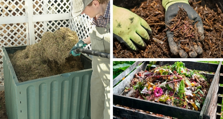 Process of Composting - Turn, Add Water, Wait, Repeat