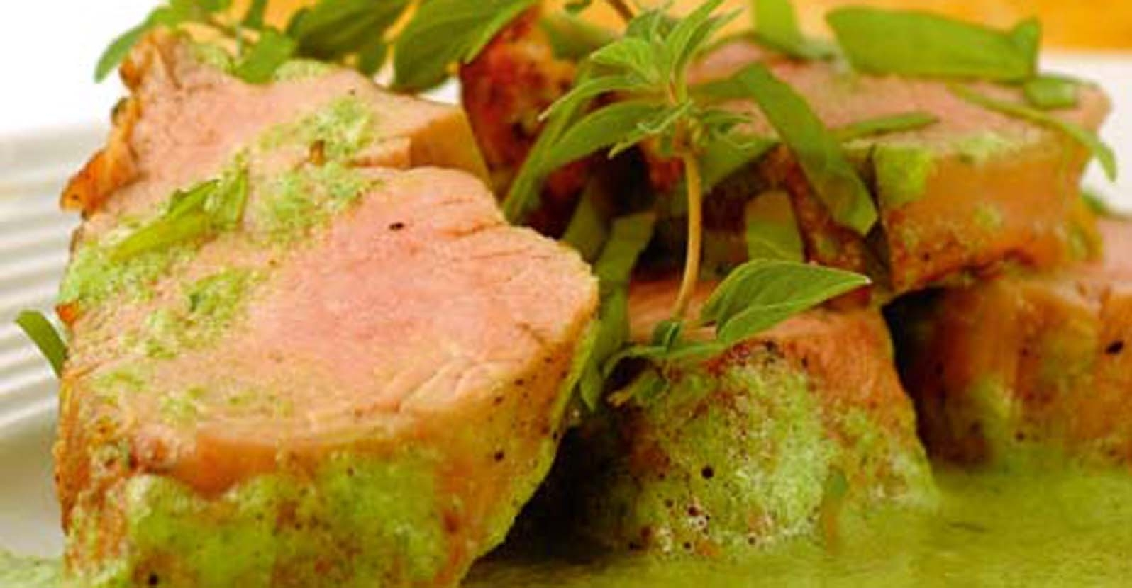 Parsley Cilantro Marinade