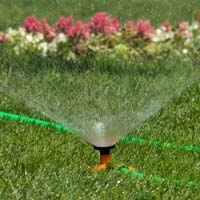 Sprinkler in Garden