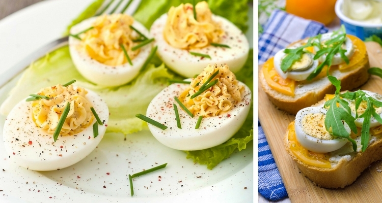 Ways to Use Hard-boiled Eggs, Deviled Eggs or Sandwiches