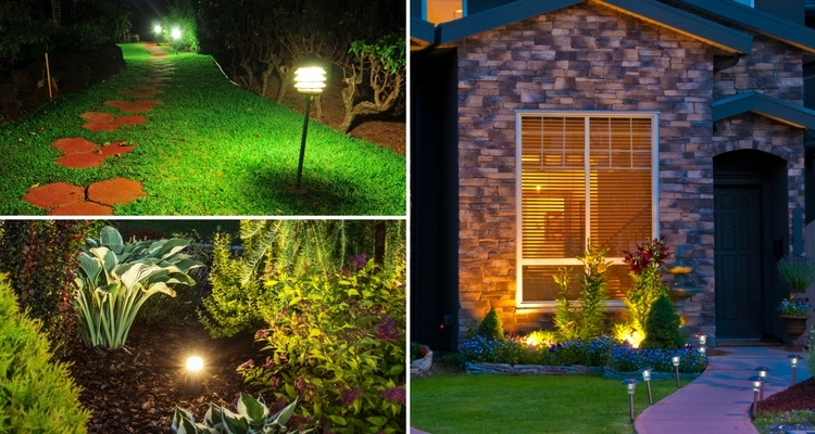 Garden Landscape Lights_Illuminated Night Garden