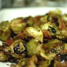 Bacon and Balsamic Brussels Sprouts