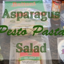Asparagus and Pesto Pasta Salad