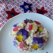 4th of July Creamy Potato Salad