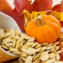 Sea Salt and Garlic Roasted Pumpkin Seeds