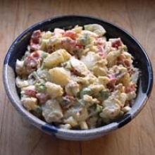 Potato Salad with Bacon Dijon Dressing