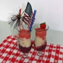 Patriotic Berry Smoothie